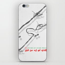 Palestine My Home iPhone Skin