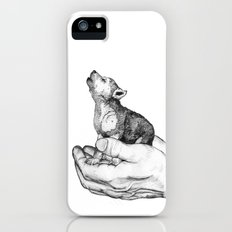 Wolf Cub // Graphite iPhone (5, 5s) Slim Case
