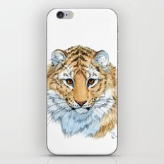 Young Sweet Tiger iPhone & iPod Skin