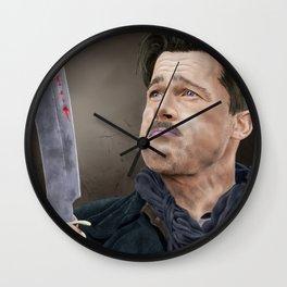 Lt. Aldo Raine Wall Clock