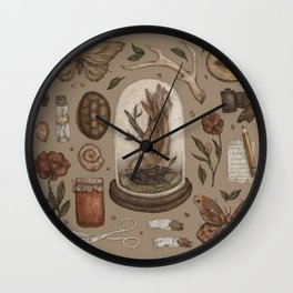 Preserved Memories Wall Clock