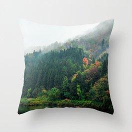 Autumn Adventure Throw Pillow