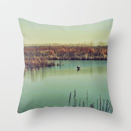 All By Myself Throw Pillow