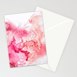 Red fog Stationery Cards