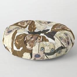 Doxie Nation Floor Pillow