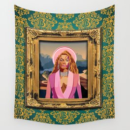 Queen B in the Louvre Wall Tapestry