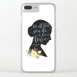 Let All That You Do Clear iPhone Case