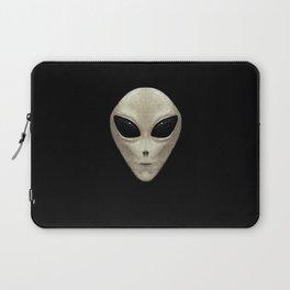 Grey Alien Laptop Sleeve