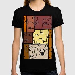 Line Art Pattern T-shirt