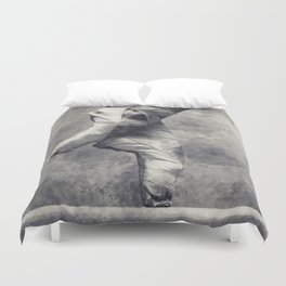 Dancing shoes Duvet Cover