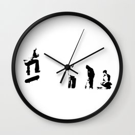 and also with you Wall Clock