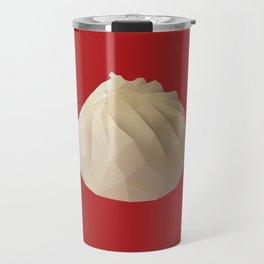 Xiao Long Bao polygon art Travel Mug