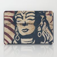 hindu iPad Cases featuring Hindu mural by Rick Onorato