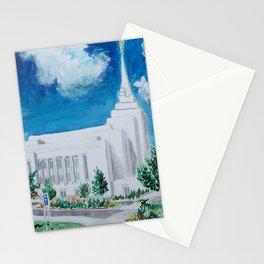 Rexburg Idaho LDS Temple Stationery Cards