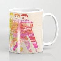 elvis presley Mugs featuring Elvis Presley by manish mansinh