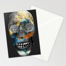 24k Black Sea Skelly Stationery Cards