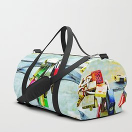 Love locks Duffle Bag