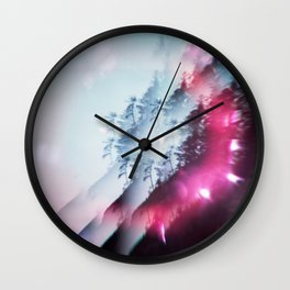 The Subtleties of Trees - Film Photograph on the Oregon Coast Wall Clock