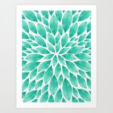 Petal Burst #12 Art Print