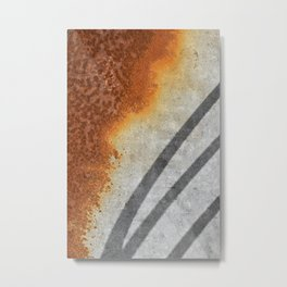 Rust Abstract I Metal Print