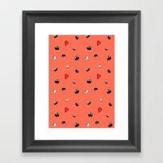Sushi Saturday Framed Art Print