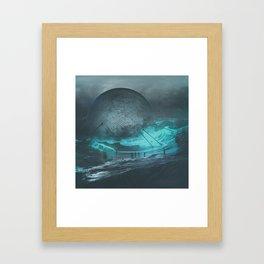 U1.COMBINER (everyday 09.28.15) Framed Art Print