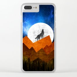 Night Shadow Clear iPhone Case