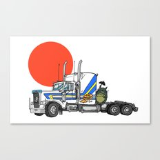 No Trouble in Little Japan Canvas Print