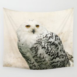 Snowy Owl Wall Tapestry