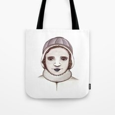 Miss Butterfield Tote Bag