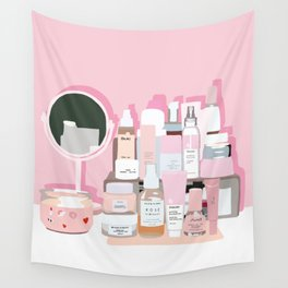 Sort of Obsessed Top Shelf Wall Tapestry
