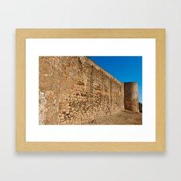 Oldest Castle of Castro Marim Framed Art Print