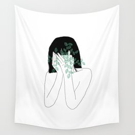 A little bit dissapointed in humanity / Illustration Wall Tapestry