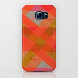 Abstract Strips Pattern iPhone Case