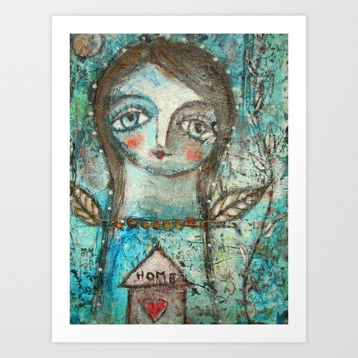 Home spirit Art Print
