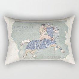 Centaurus and Retiarius Rectangular Pillow