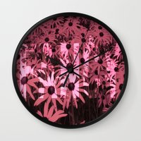 fancy Wall Clocks featuring Fancy by Paxton Keating