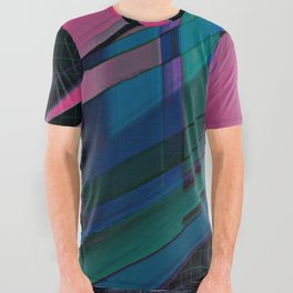 Color Wave ~015~ All Over Graphic Tee