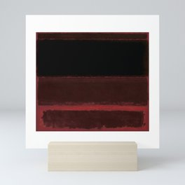 1958 Four Darks on Red by Mark Rothko Mini Art Print