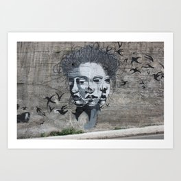 Amman Street Art I Art Print