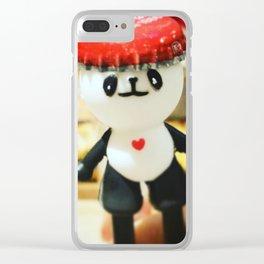 Coca-Cola Panda Clear iPhone Case