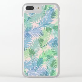 Plumas Clear iPhone Case