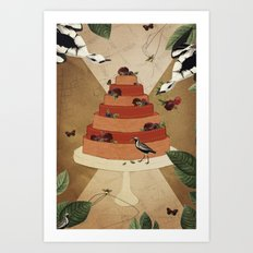 Let Them Eat Cake :: II Art Print