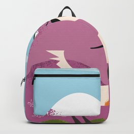 billy goat gruff Backpack