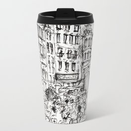Prenzlauer Berg (Berlin) Metal Travel Mug