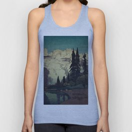 The Pending Storm at Hike Unisex Tank Top