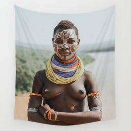 Karo Tribeswoman II Wall Tapestry