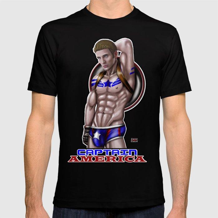 Steve Rogers / Chris Evans T-shirt