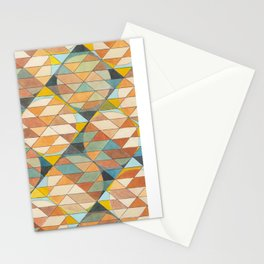 Triangles and Circles Pattern no.23 Stationery Cards