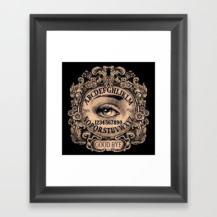 Mystic Eye Ouija Gerahmter Kunstdruck